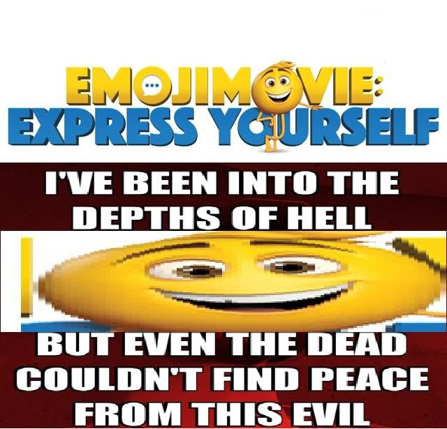 Image result for the emoji movie meme