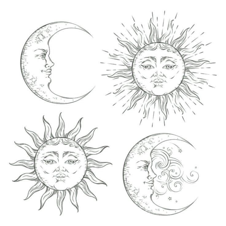 Лица татуировки | татуировки | Татушка | 736x736