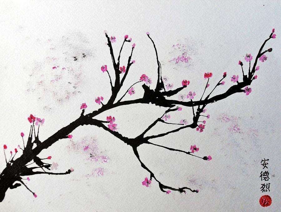 Cherry Blossom By Andrea Realpe Cherry Blossom Art Cherry
