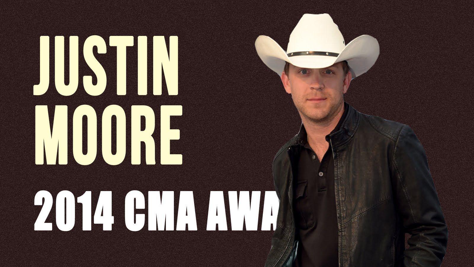 Justin Moore S Baby Not Letting Him Sleep 2014 Cma Awards
