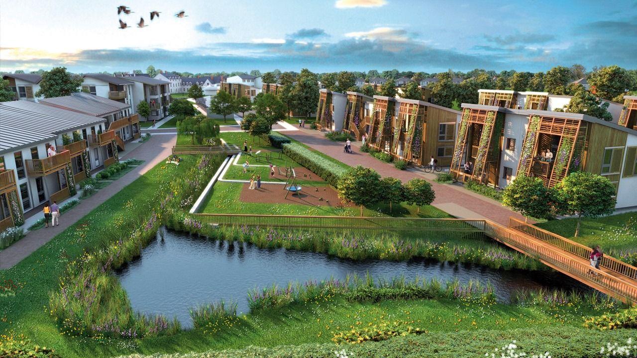 Село в будущем в картинках