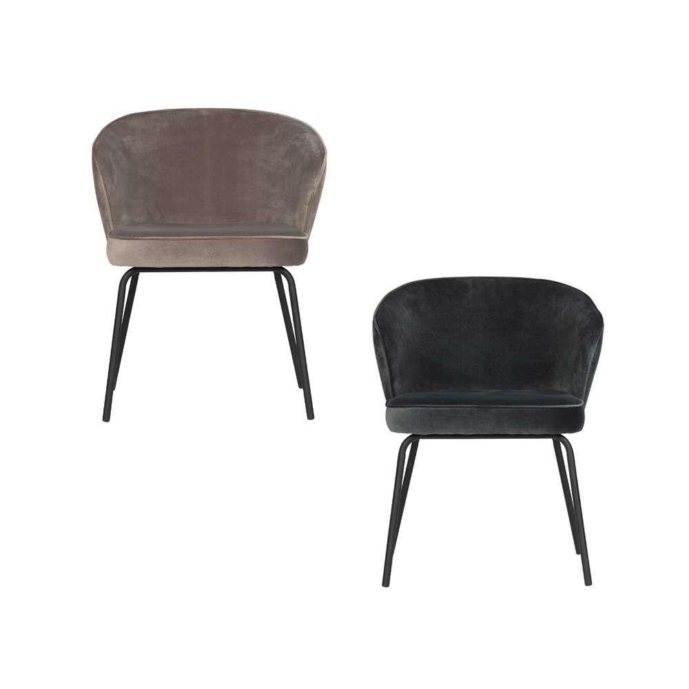 Designerstuhl Dirk Aus Samt Im Art Deco Stil Bringt Sitzkomfort In Ihr Esszimmer Kaufen Sie Den Samtstuhl In Blau Oder Be Stuhle Esszimmerstuhl Stuhl Design