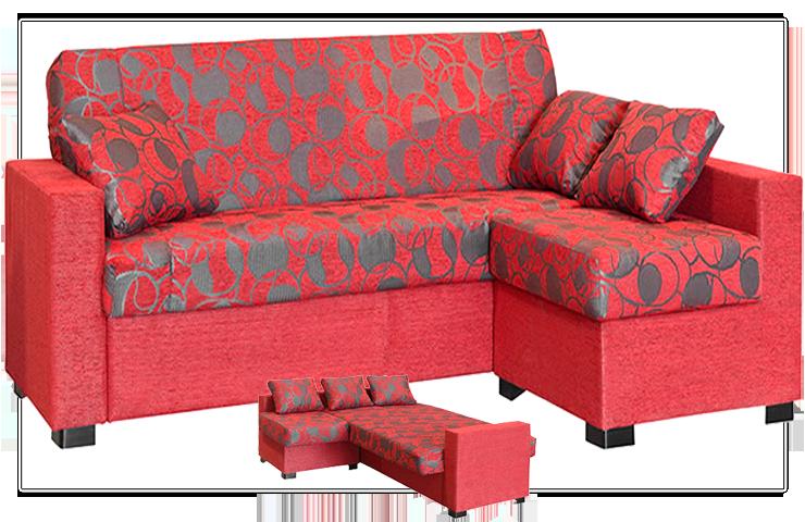 Convierte fácilmente esta #chaiselongue en una confortable cama para ...