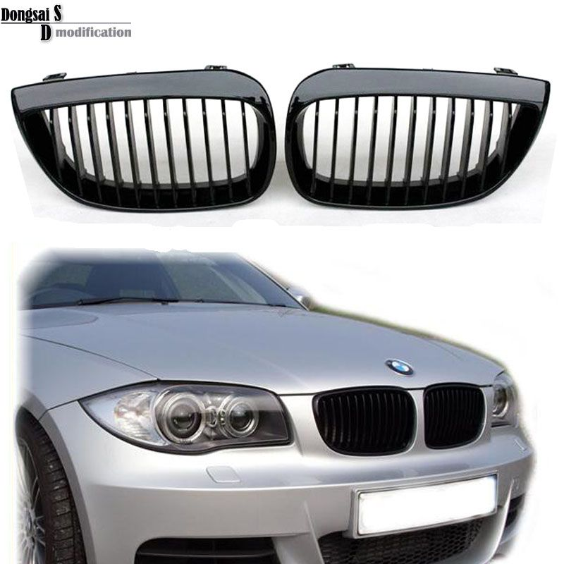 E81 E87 Front Kidney Grill Grille For Bmw 1 Series E81 2007 2012 3