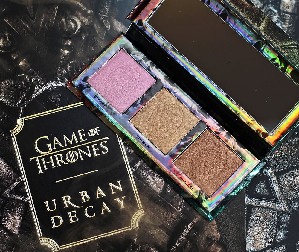 Urban Decay x Game of Thrones MOTHER OF DRAGONS Highlight