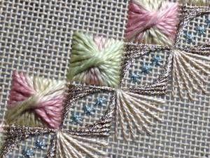 bargello embroidery stitches - Google Search