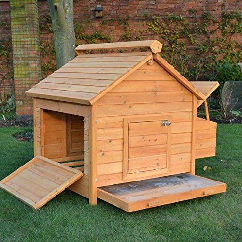 Poulailler Coop Plans DIY Backyard Grange Maison de Poule Cage avec Run 8 x 16