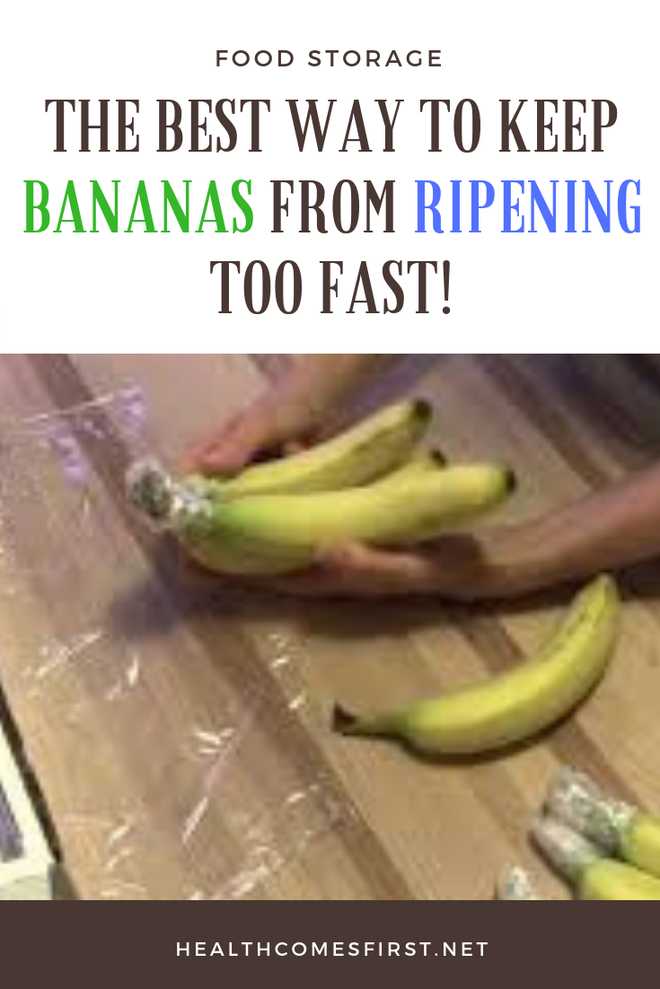 The Best Way To Keep Bananas From Ripening Too Fast Turn Brown Because Of A Simple Oxidation Process When You Cut Open Banana