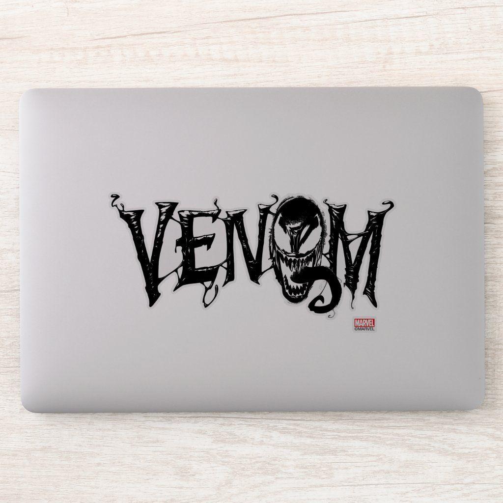 Spider Man Venom Name Logo Sticker Zazzle Com In 2021 Logo Sticker Disney Sticker Name Logo [ 1024 x 1024 Pixel ]