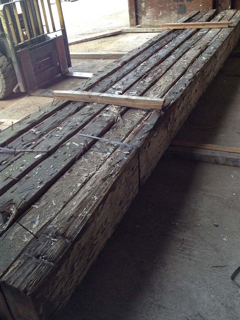 Heart Pine Timber1