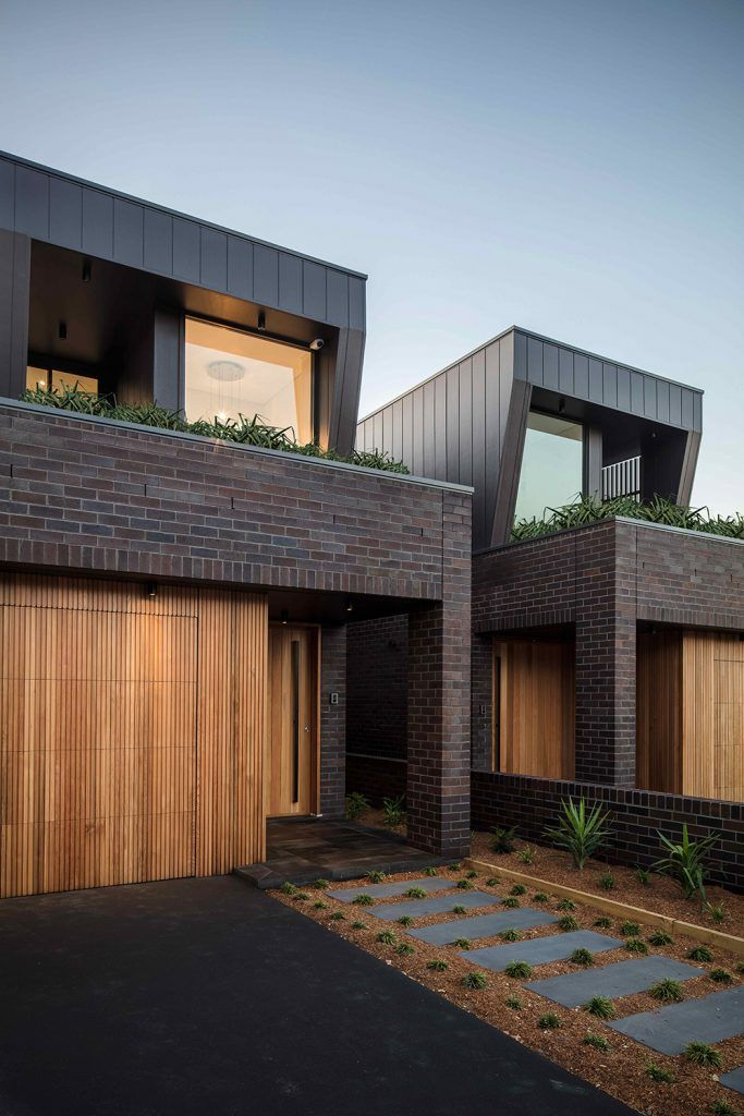Dual occupancy project townhouse designs house design also rh pinterest