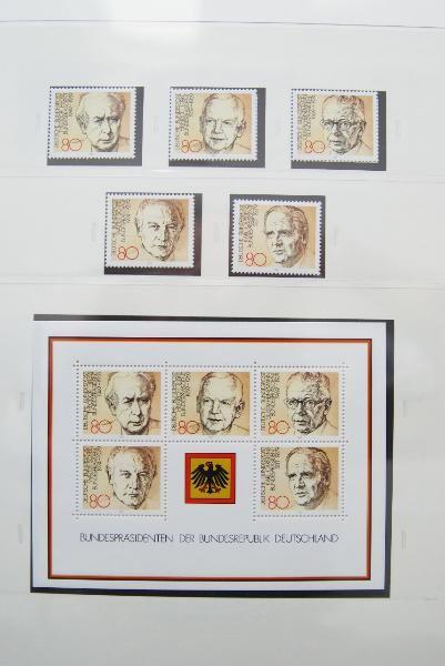 Briefmarkensammlung Deutschland 1970-1984