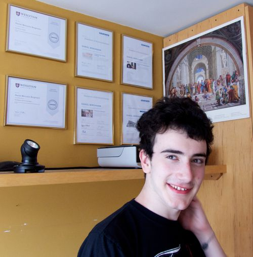 Not Impossible: The Story of Daniel, a 17 Year Old with Severe Autism & His 6 Completed Coursera Courses.