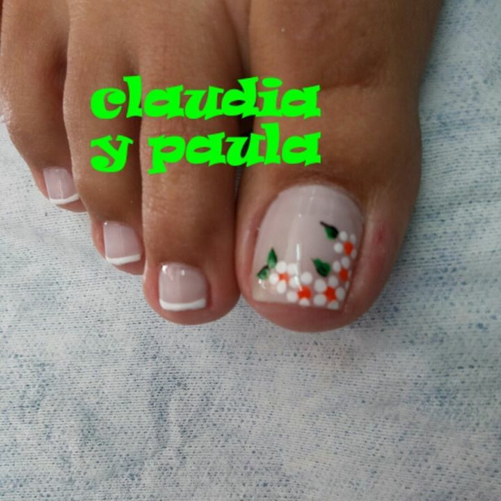 Pin de Omaira Sanchez en omaira   Arte de uñas de pies ...