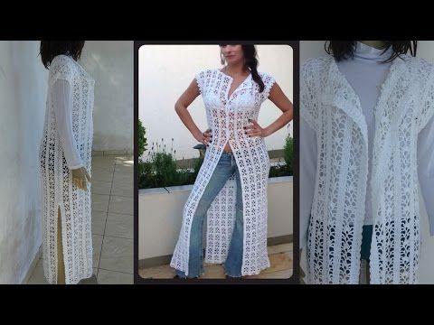 Max Colete Fashion Tutorial Crochê Passo A Passo Youtube