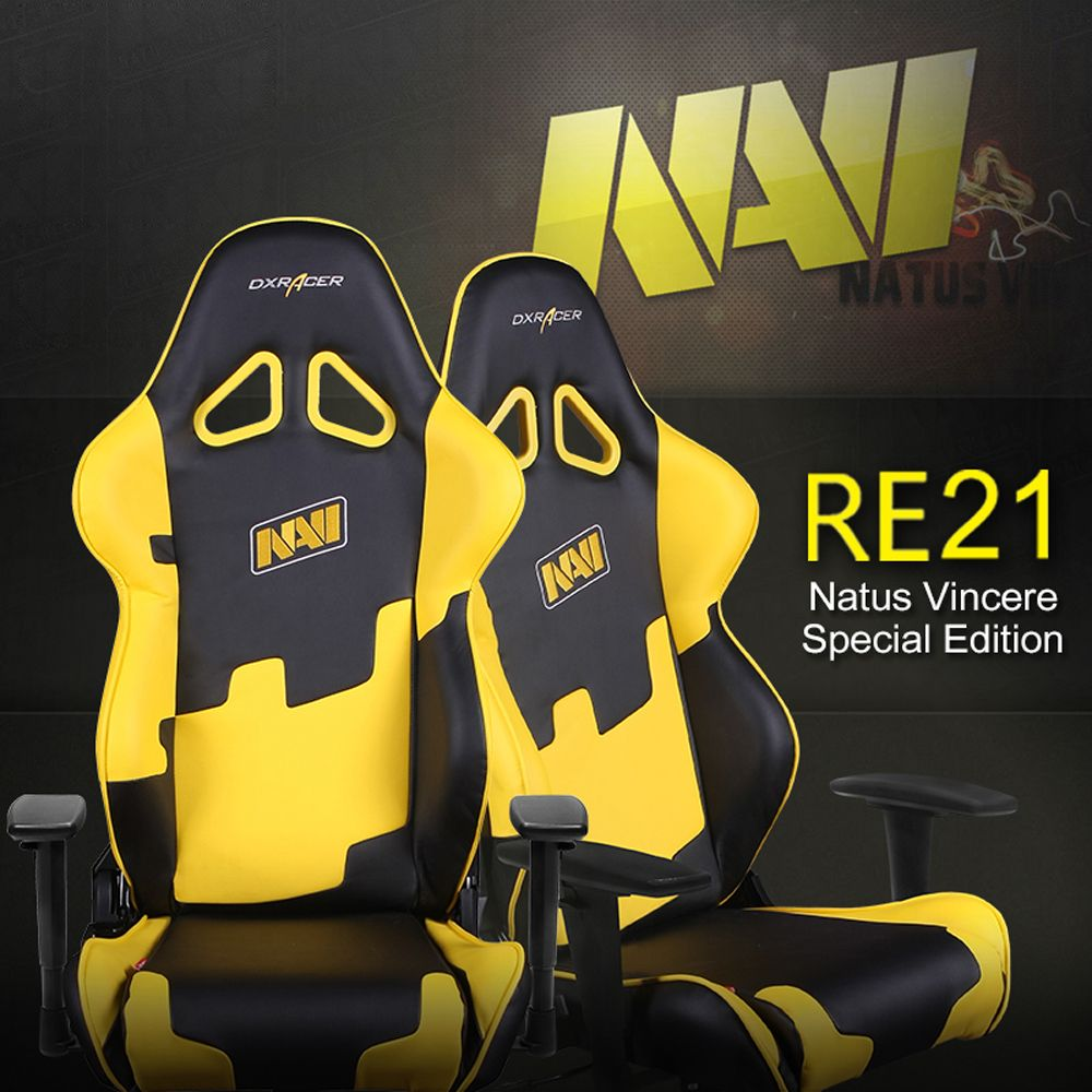 Dxracer Oh Re21 Ny Navi High Back Racing Seat Gaming Chair Publack Series Rv131 No Black Orange Yellow Team Edition Pinterest