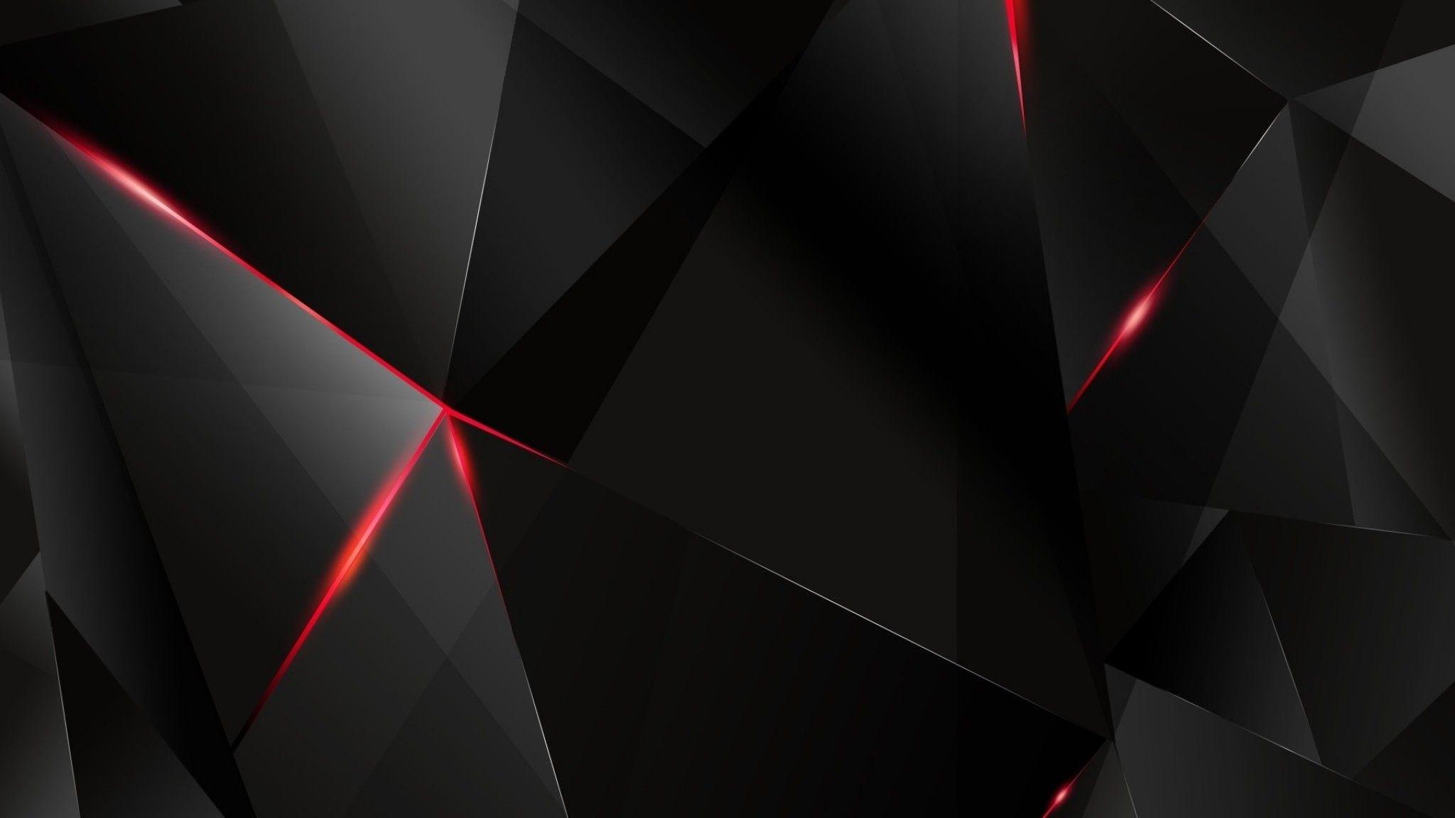 2048x1152 Wallpaper 2048x1152 Black Light Dark Figures Hd Hd Background Red And Black Wallpaper Dark Black Wallpaper 2048x1152 Wallpapers