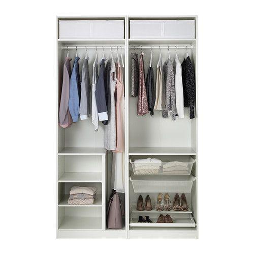 Best PAX Kleiderschrank xx cm Schnappbeschlag IKEA