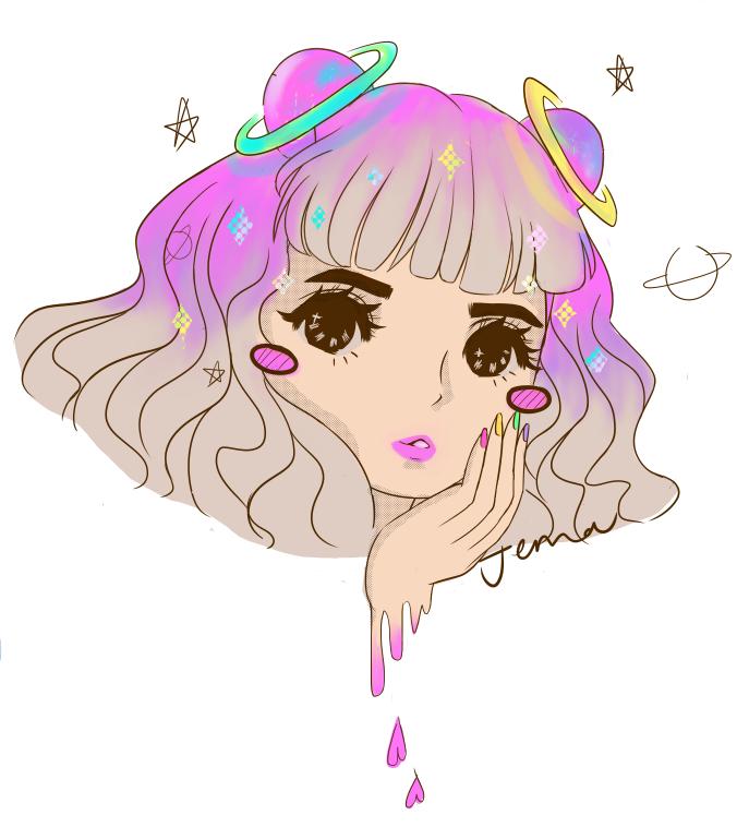 Them Space Buns Derpy Cute Drawings Pinterest