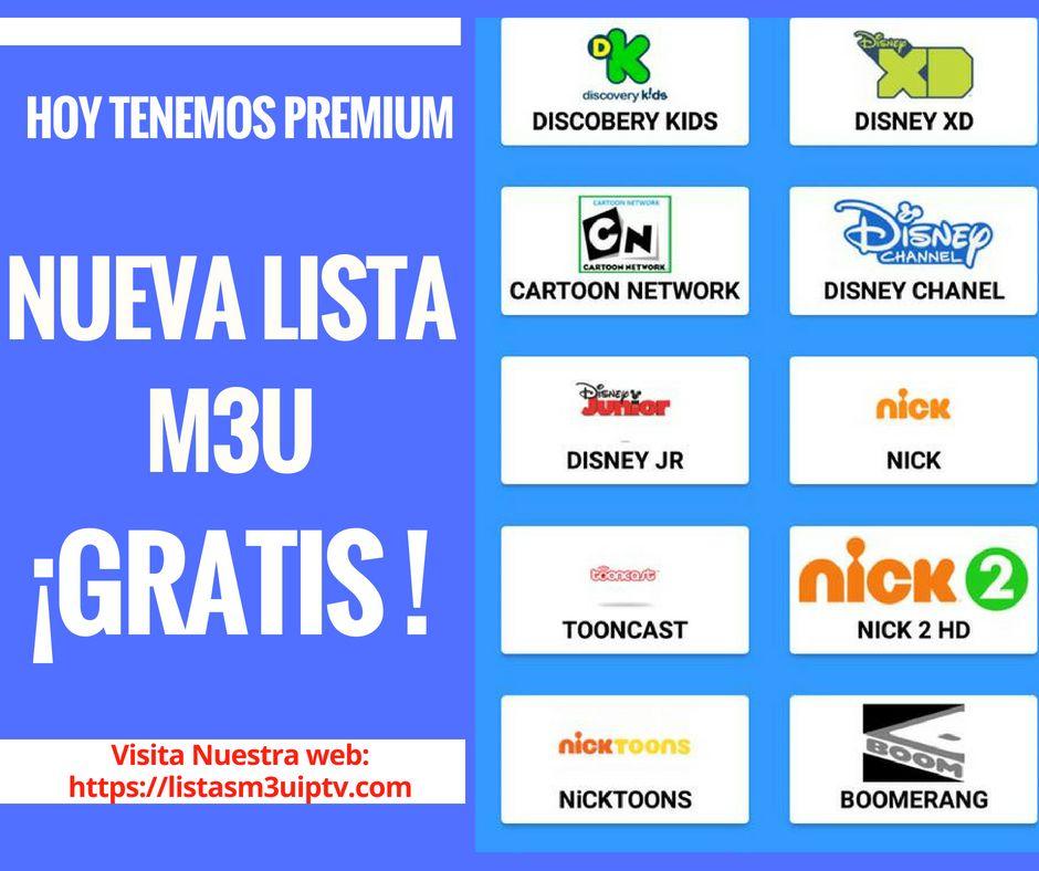 Nueva Lista M3u Remota Premium Iptv 2018 Que Te Mejores Películas Gratis Telenovela