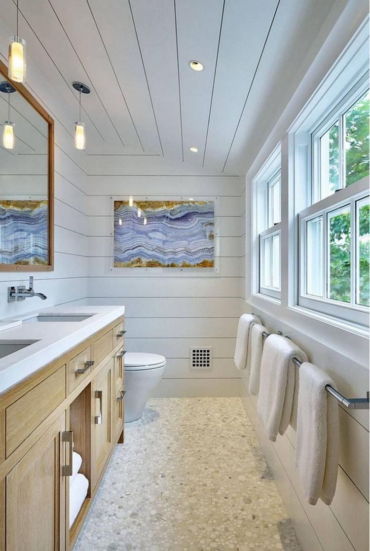 30+ Top Bathroom Decor Ideas With Coastal Style #bathroom ...