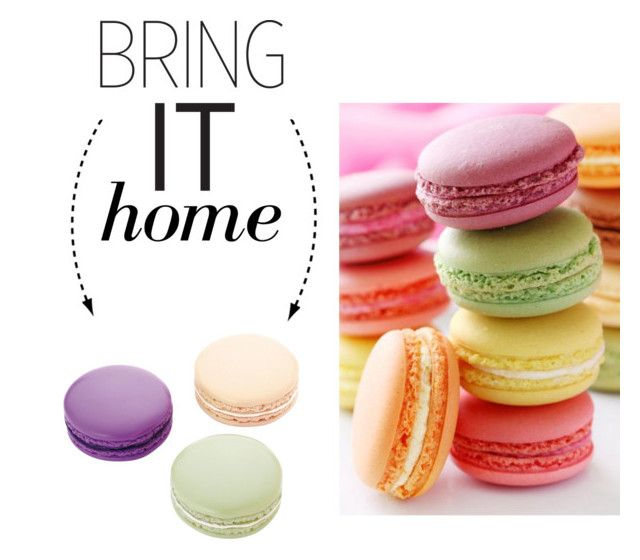 Bring It Home Ladurée Macarons Eraser Set My Polyvore
