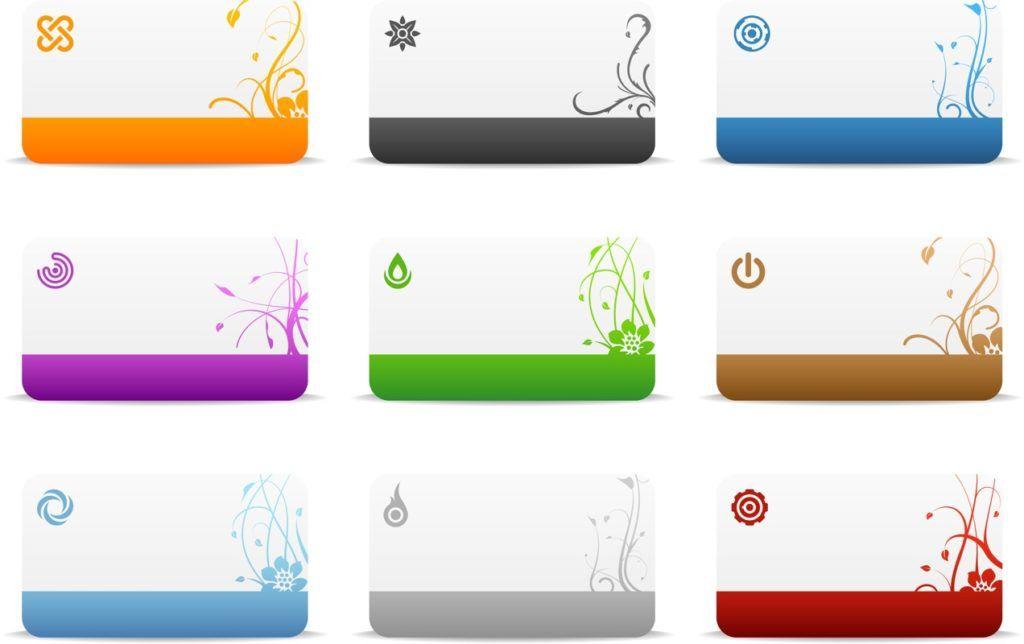 Free Business Card Templates Und Druck Zusammen Mit Der