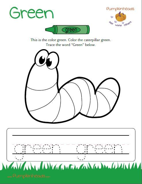 The broccoli is green Worksheet - Twisty Noodle
