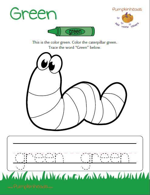 color green worksheets for preschoolers color best free printable worksheets. Black Bedroom Furniture Sets. Home Design Ideas