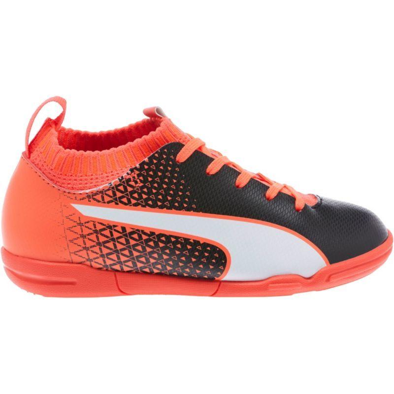 3cc36f86765 Puma Kids  evoKNIT FTB Indoor Soccer Shoes