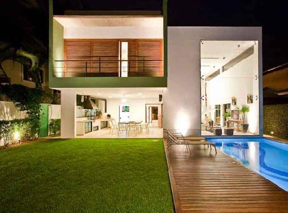 Modern Brazilian House Casa Acapulco Designed By Flavio Castro 2