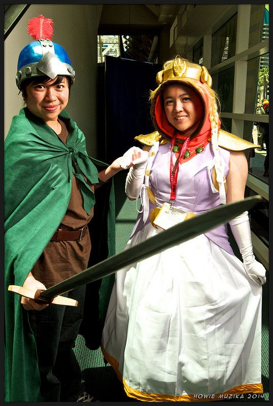 2014 San Diego Comic-Con Cosplay - SOUTH PARK & THE STICK OF TRUTH - STAN & PRINCESS KENNY