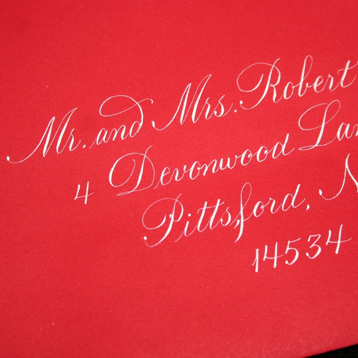 Calligraphy Envelope Addressing, Copperplate, Wedding Calligraphy by ...