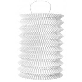 Lampion papier blanc 10 x 18 cm les 2
