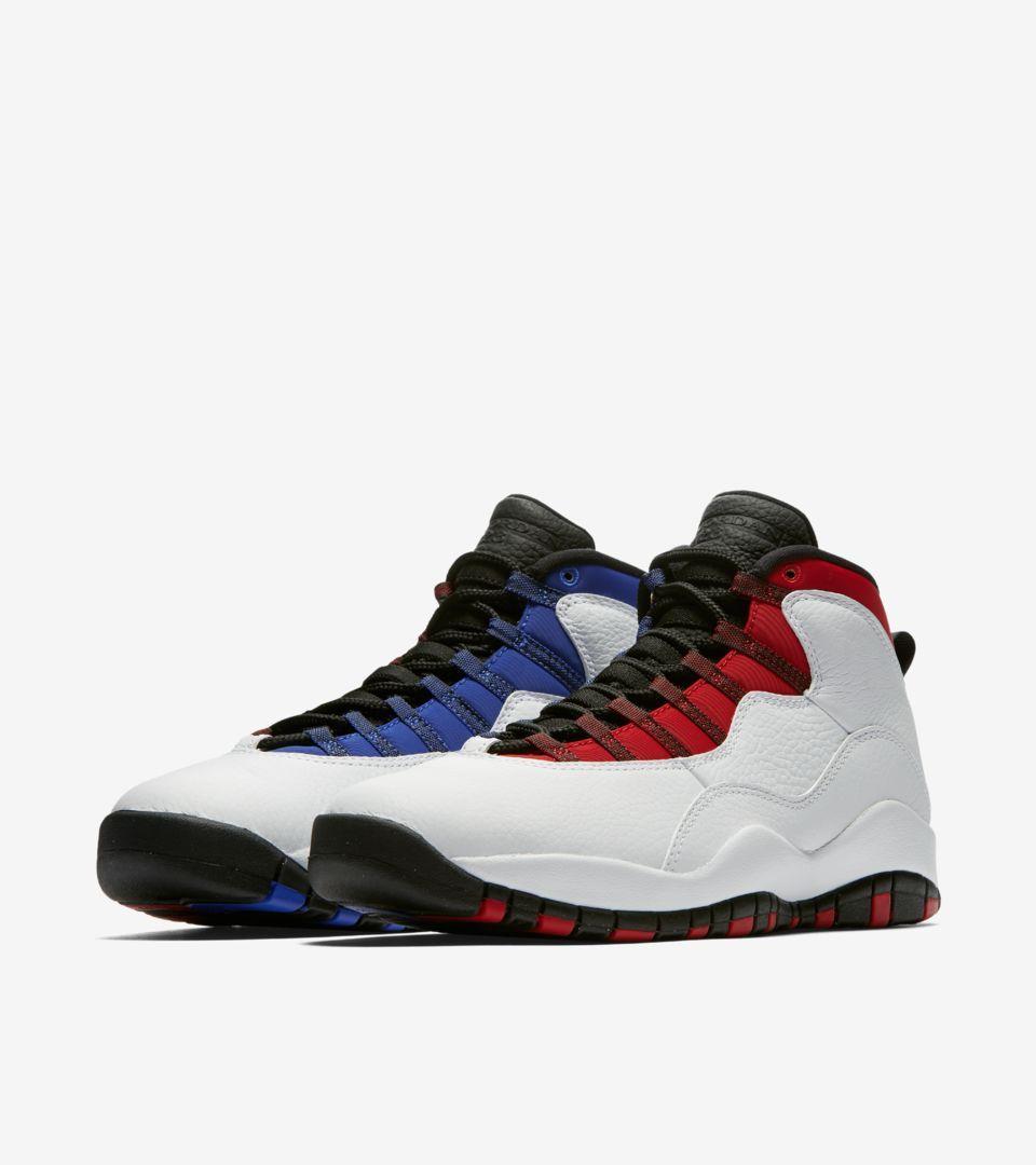 8cac2fa5c2e Air Jordan X (10) Retro 'White & Varsity Red' -Release Date: Saturday, June  30th 2018 -Price: $190