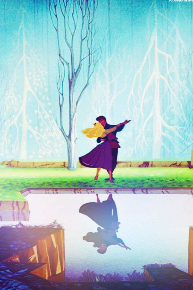 The Sleeping Beauty Aurora And Prince Phillips Disney Wallpaper