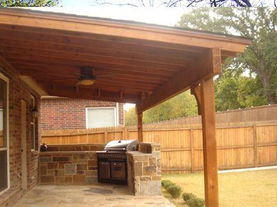 Cedar Stone Portico | Cedar Patio Flagstone Flooring 9x20 Wood Cedar Patio  Decorative A .