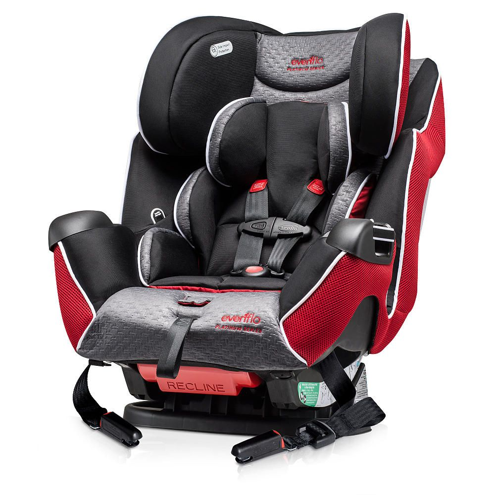 Evenflo Symphony LX Platinum All-in-One Convertible Car Seat - Autry