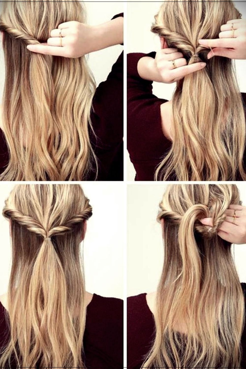 Hairstyles For Long Hair Easy Ideas And Fast Long Hair Styles Braids For Long Hair Thick Hair Styles