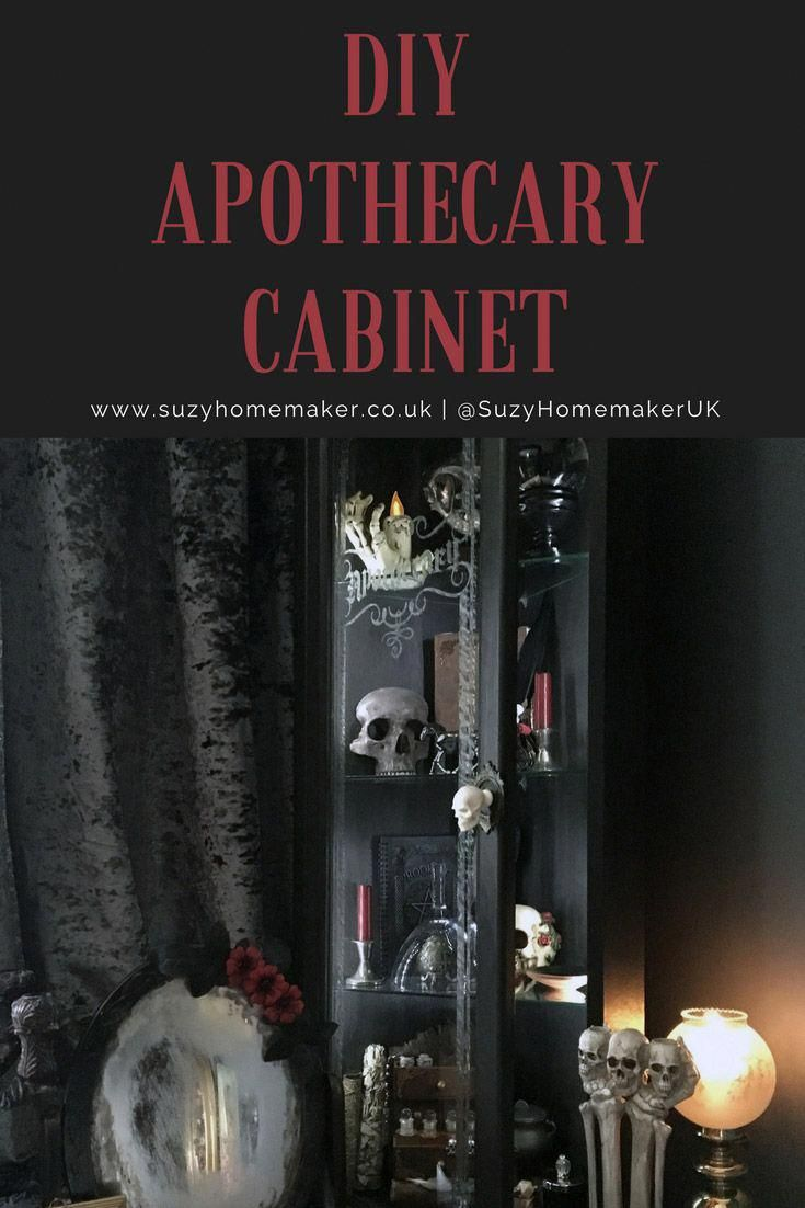Photo of DIY Apothecary Cabinet | The Witch at OneandSeventy