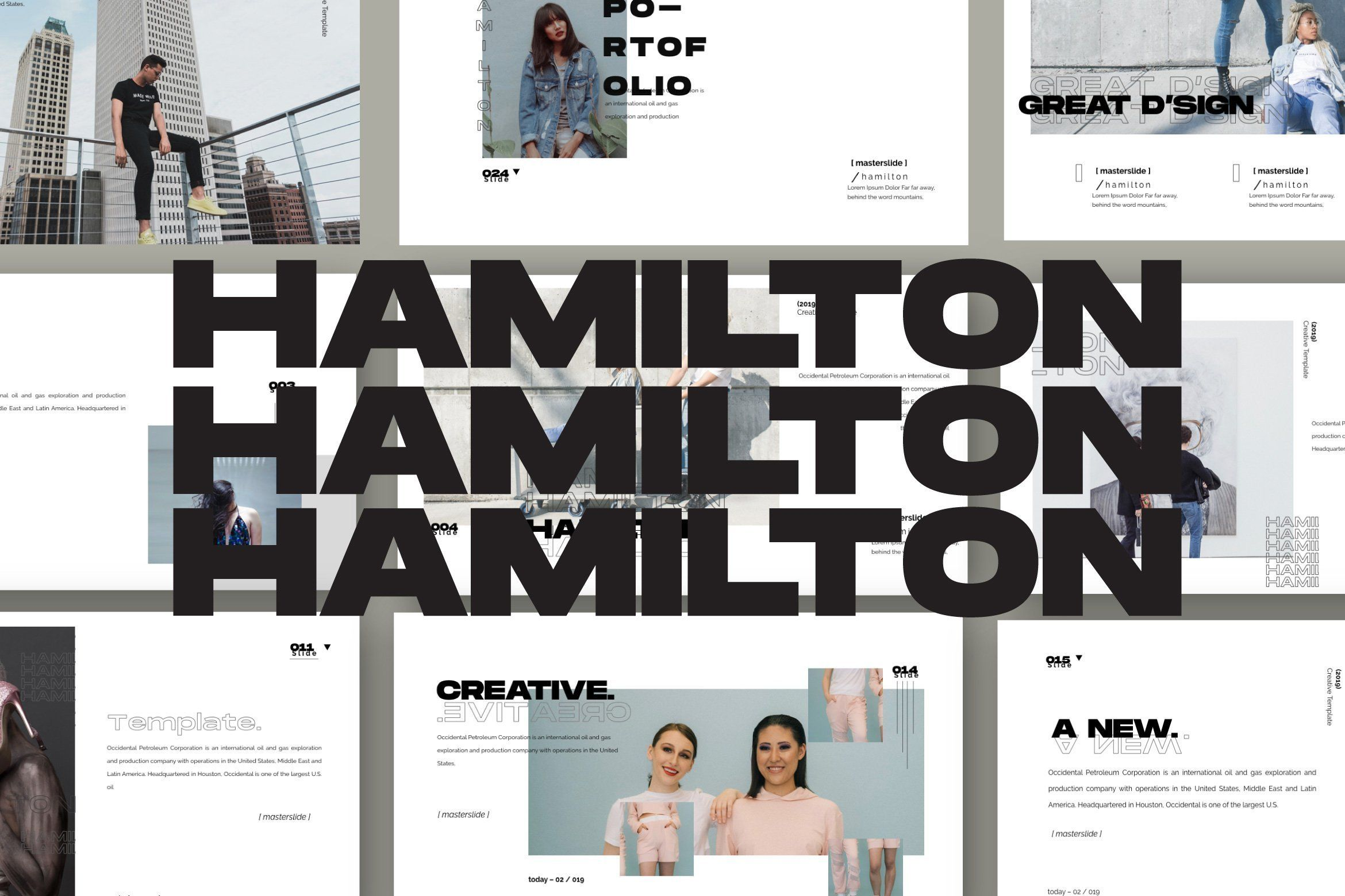 Hamilton Presentation Template Free Design Resources Keynote Design Templates Free Design Presentation