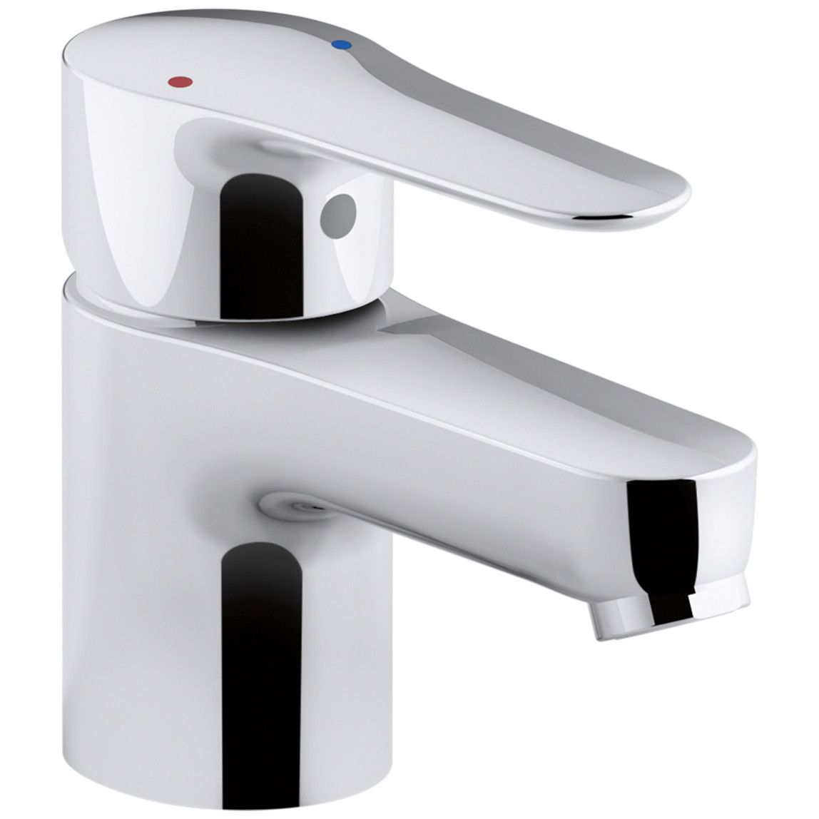 Kohler July SingleHandle Commercial Bathroom Sink Faucet Without - Kohler commercial bathroom faucets