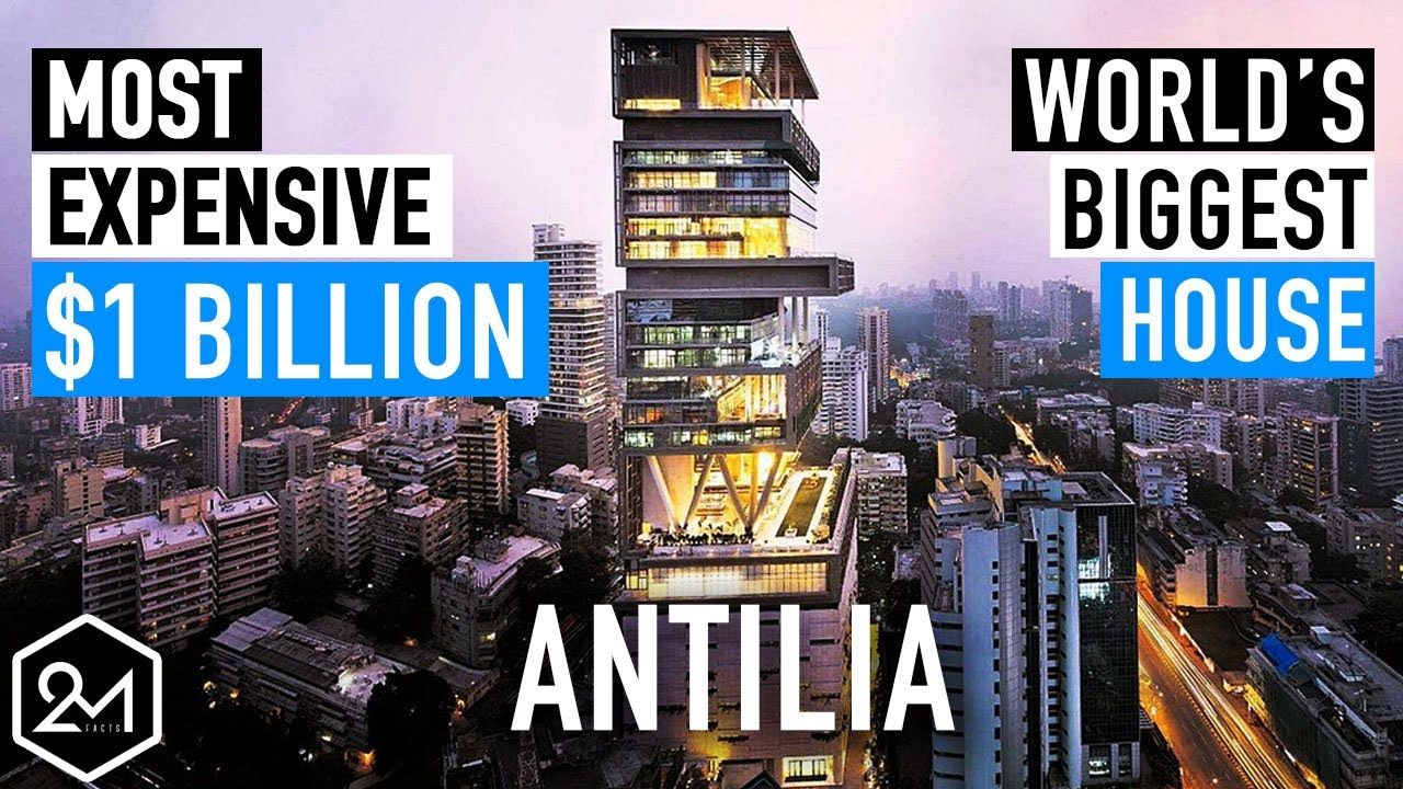 Look Inside World S Most Expensive And Biggest House Antilia