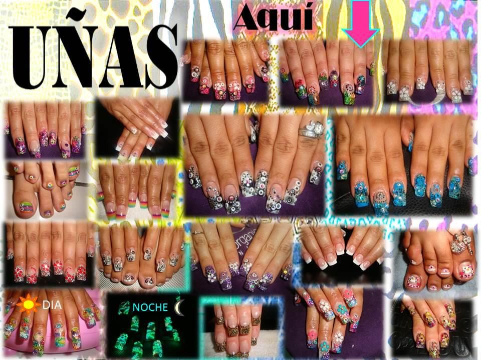 uñas acrilicas french, naturales, decoradas sencillas, decoracion en ...