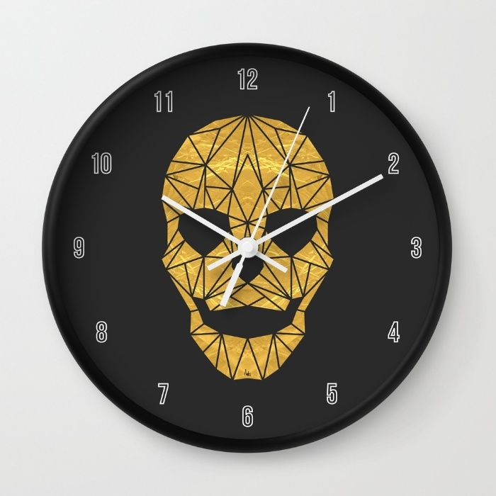 The Golden Child Clock By Fimbis Society6 Time Home Decor