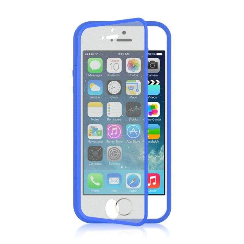 Apple iphone 5s wrapup wscreen protector case navy t