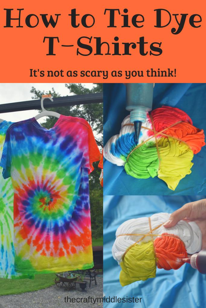803c6a592f0 how to tie dye t-shirts. how to tie dye t-shirts Fun Activities To Do
