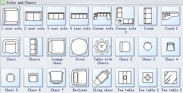 Home Plan Symbols 4 Floor Plan Symbols Floor Plans Door Plan