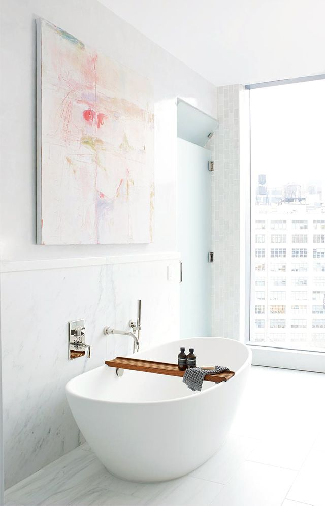 Look Inside a Serenely Styled Multistory Penthouse With Sweeping NYC ...