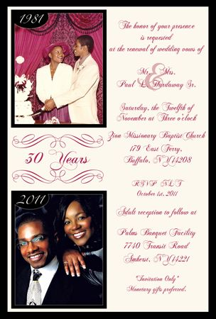 vow renewal invitations pictures Renewing vow invitation middot